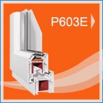 P 603E PVC Pencere ve Kapı Sistemleri