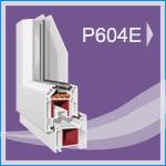 P 604E PVC Pencere ve Kapı Sistemleri