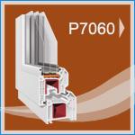 P 7060 PVC Pencere ve Kapı Sistemleri